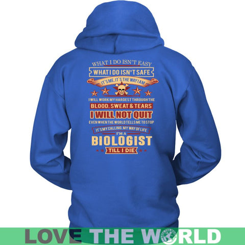 Image of Biologist A9 T-Shirt District Unisex Shirt / Red S T-Shirts