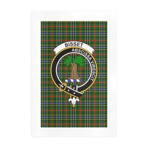 Image of Bisset Clan Tartan Art Print F1 One Size / 19í_í‡X28í_í‡ Prints