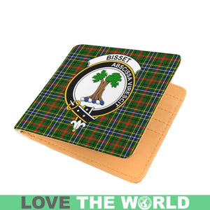 BISSET CLAN TARTAN MEN WALLET A3