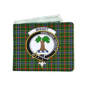 Bisset Clan Tartan Men Wallet Y3 Wallets