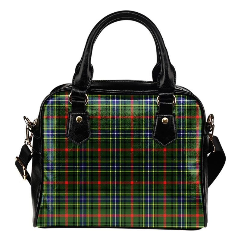 Bisset Tartan Shoulder Handbag - Bn Handbags