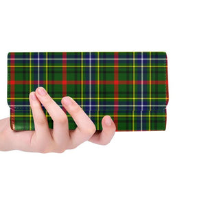 Bisset Tartan Trifold Wallet V4 One Size / Bisset Red Womens Trifold Wallet Wallets