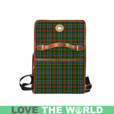 Bisset Tartan Canvas Bag | Waterproof Bag | Scottish Bag