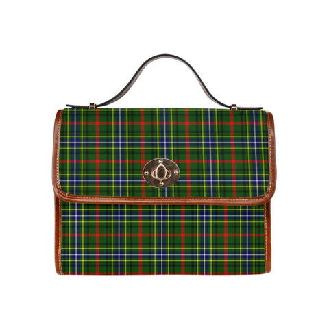 Image of Bisset Tartan Canvas Bag | Waterproof Bag | Scottish Bag