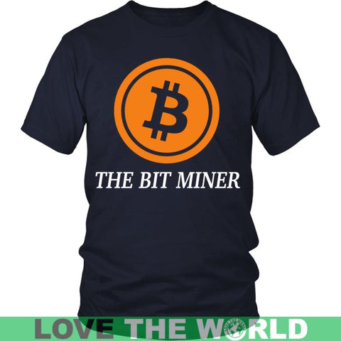 Image of Bitcoin Miner T-Shirts District Unisex Shirt / Red S