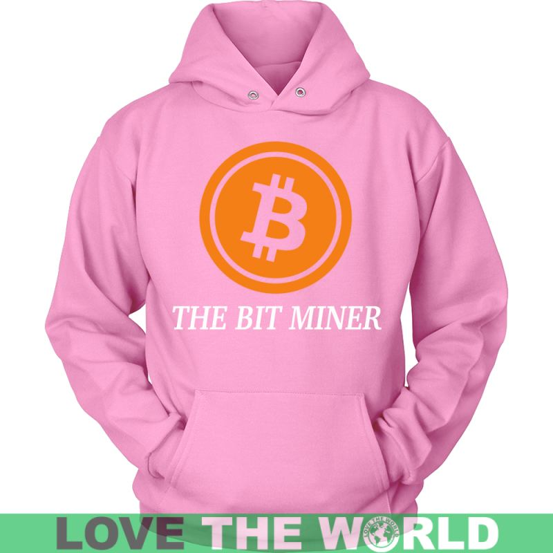 Bitcoin Miner T-Shirts District Unisex Shirt / Red S