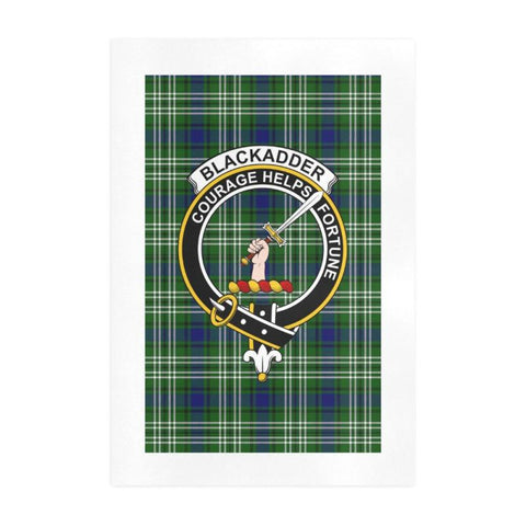 Blackadder Clan Tartan Art Print F1 One Size / 19í_í‡X28í_í‡ Prints