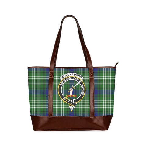 Blackadder Tartan Clan Badge Tote Handbag Hj4 Handbags