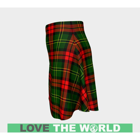 Tartan Skirt - Blackstock Women Flared Skirt A9 |Clothing| 1sttheworld