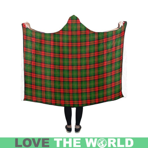 Image of Blackstock Tartan Hooded Blanket - Bn | Love The World