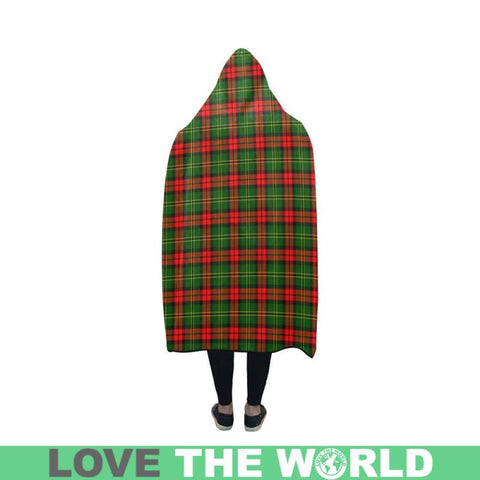 Blackstock Tartan Hooded Blanket - Bn | Love The World