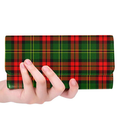 Image of Blackstock Tartan Trifold Wallet V4 One Size / Blackstock Black Womens Trifold Wallet Wallets