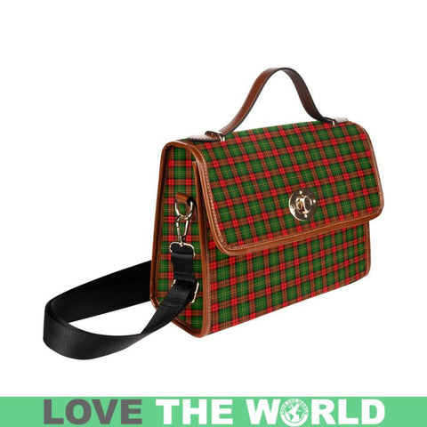 Image of Blackstock Tartan  Waterproof Canvas BagA9 Tartan Plaid Canvas Bag | Online Shopping Scottish Tartans Plaid Handbags