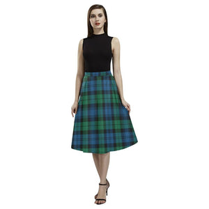 Blackwatch Ancient Tartan Aoede Crepe Skirt S12 Skirts