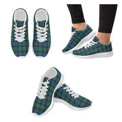 Blackwatch Ancient Tartan Shoes/ Tartan Sneakers HJ4