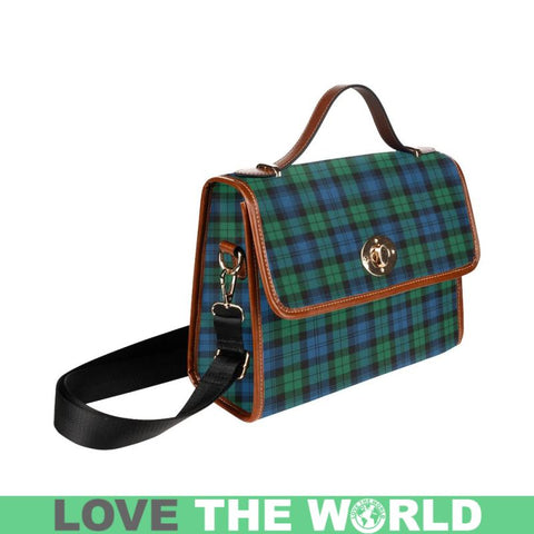 Image of Blackwatch Ancient Tartan Plaid Canvas Bag | Online Shopping Scottish Tartans Plaid Handbags