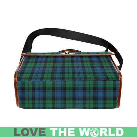 Blackwatch Ancient Tartan Plaid Canvas Bag | Online Shopping Scottish Tartans Plaid Handbags