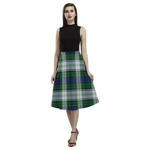 Blackwatch Dress Modern Tartan Aoede Crepe Skirt S12 Skirts