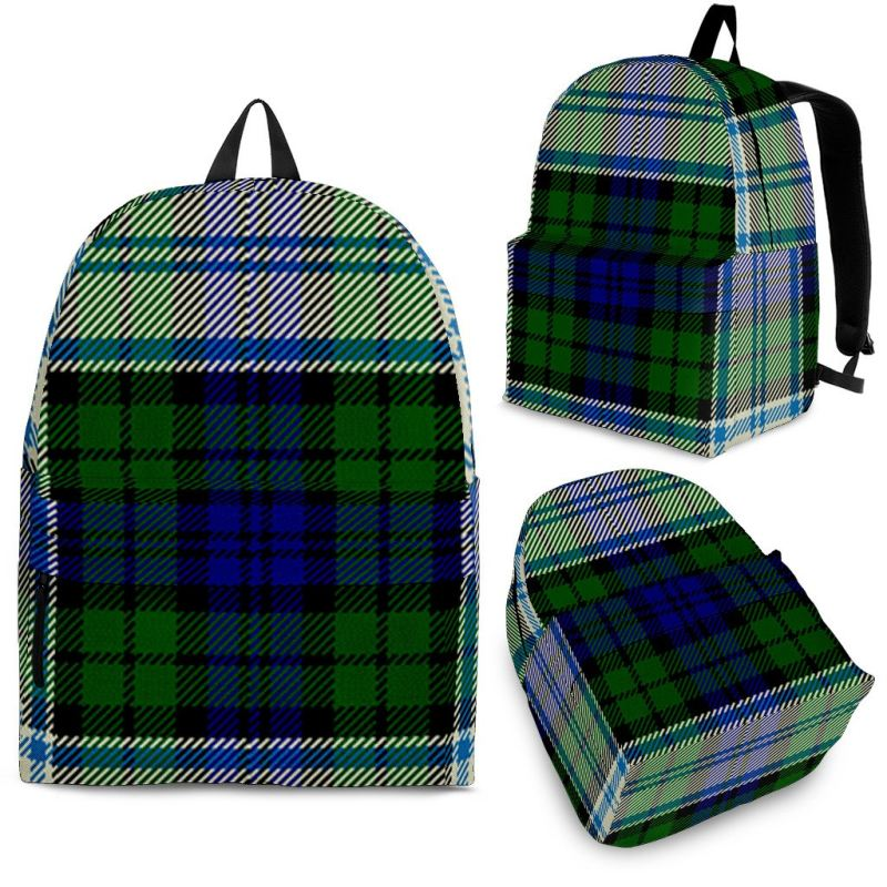 Blackwatch Dress Modern Tartan Backpack Backpacks