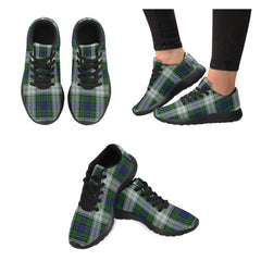 Blackwatch Dress Modern Tartan Shoes/ Tartan Sneakers HJ4