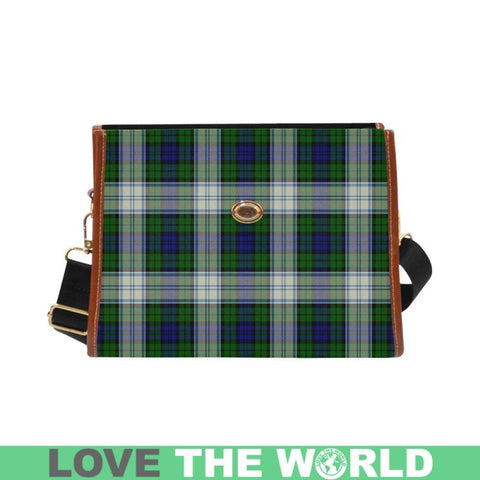 Blackwatch Dress Modern Tartan Canvas Bag | Waterproof Bag | Scottish Bag