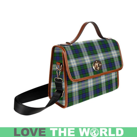 Blackwatch Dress Modern Tartan Plaid Canvas Bag | Online Shopping Scottish Tartans Plaid Handbags