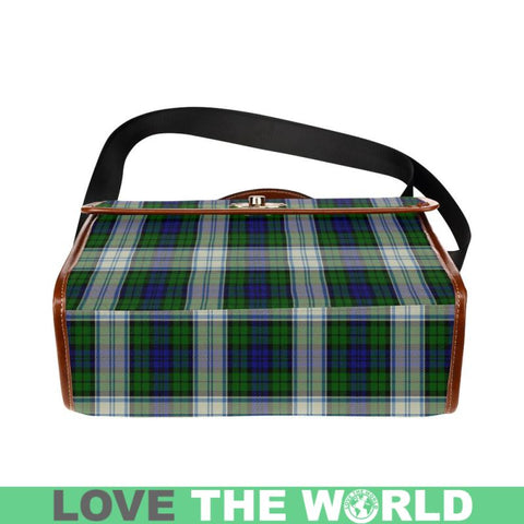 Image of Blackwatch Dress Modern Tartan Plaid Canvas Bag | Online Shopping Scottish Tartans Plaid Handbags