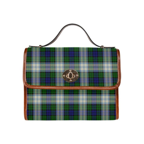 Image of Blackwatch Dress Modern Tartan Canvas Bag | Waterproof Bag | Scottish Bag
