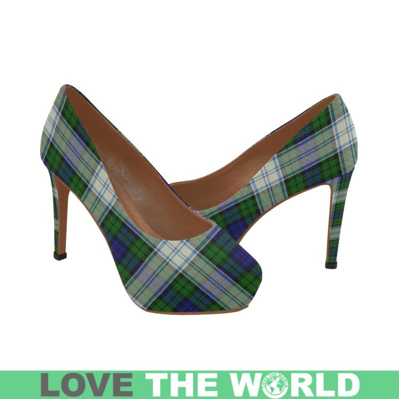 bf7e1dad7783 Blackwatch Dress Modern Tartan Womens Heels Th1 Us5   Low Womens Pointed  Toe Low Heel Pumps. Tap to expand