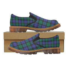 Tartan Martin Loafer - Blackwatch Modern A9