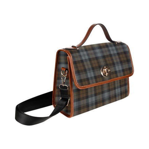 Blackwatch Weathered Tartan Canvas Bag | Waterproof Bag | Scottish Bag