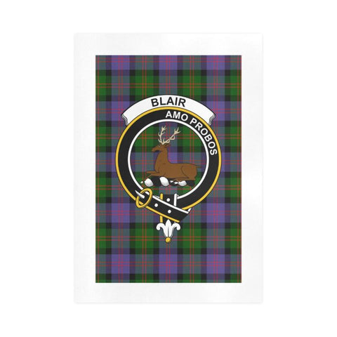 Blair Clan Tartan Art Print F1 One Size / 16í_í‡X23í_í‡ Prints