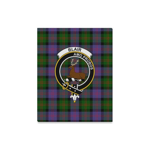 Tartan Canvas Print - Blair Clan | Over 300 Scottish Clans and 500 Tartans