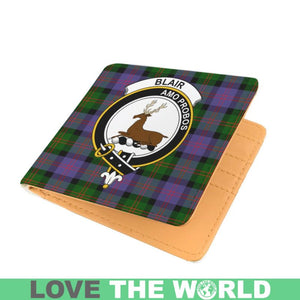BLAIR CLAN TARTAN MEN WALLET A3