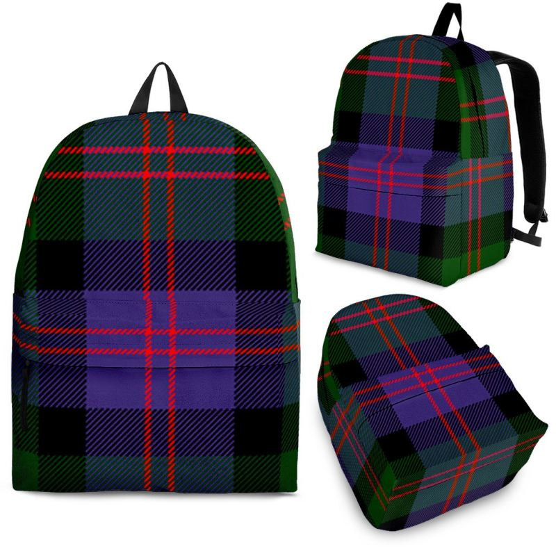 Blair Modern Tartan Backpack Backpacks