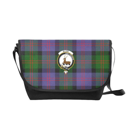 Blair Modern Tartan Clan Badge Messenger Bag - Sd1 Bags