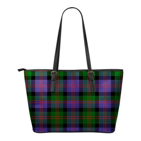 Blair Modern  Tartan Handbag - Tartan Small Leather Tote Bag Nn5 |Bags| Love The World