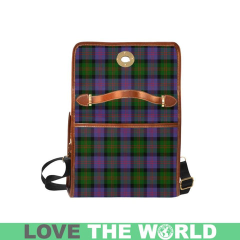 Blair Modern Tartan Canvas Bag | Waterproof Bag | Scottish Bag