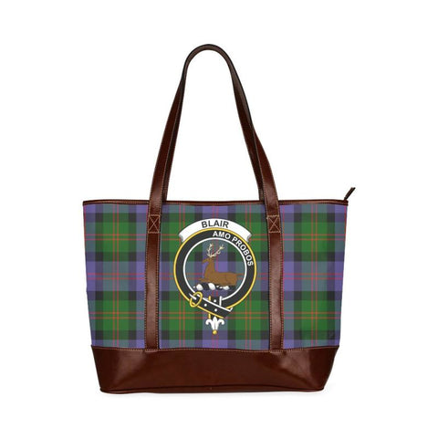 Blair Tartan Clan Badge Tote Handbag Hj4 Handbags