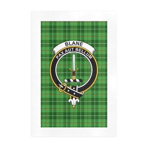 Image of Blane Clan Tartan Art Print F1 One Size / 19í_í‡X28í_í‡ Prints
