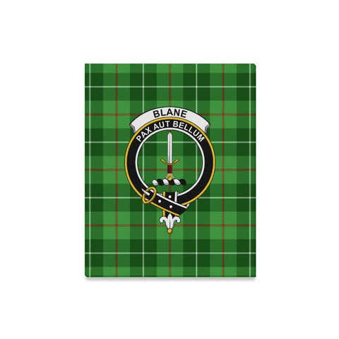 Tartan Canvas Print - Blane Clan | Over 300 Scottish Clans and 500 Tartans