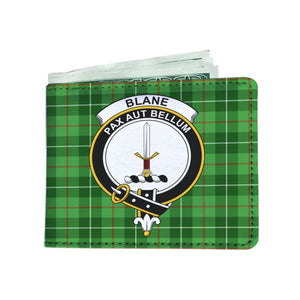 Blane Clan Tartan Men Wallet Y3 Wallets