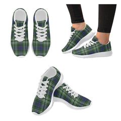 Blyth _ Tweeside District Tartan Shoes/ Tartan Sneakers HJ4