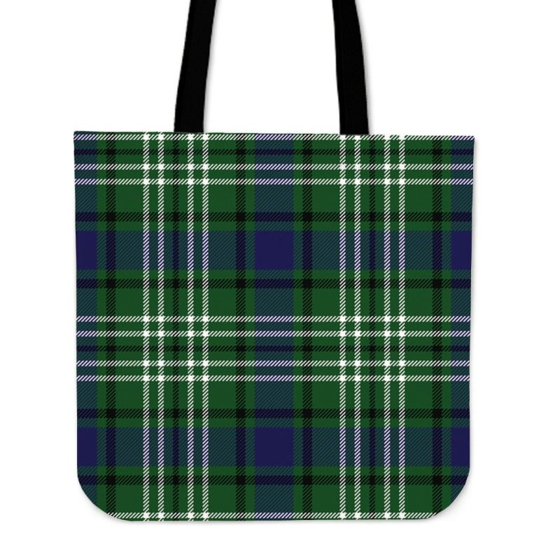Blyth Tweeside District Tartan Tote Bags