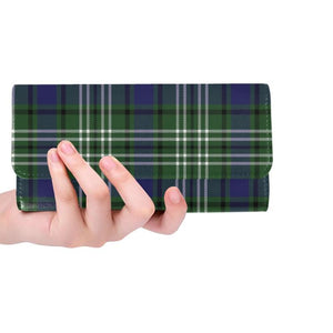 Blyth _ Tweeside District Tartan Trifold Wallet V4 One Size / Blyth Tweeside District Black Womens