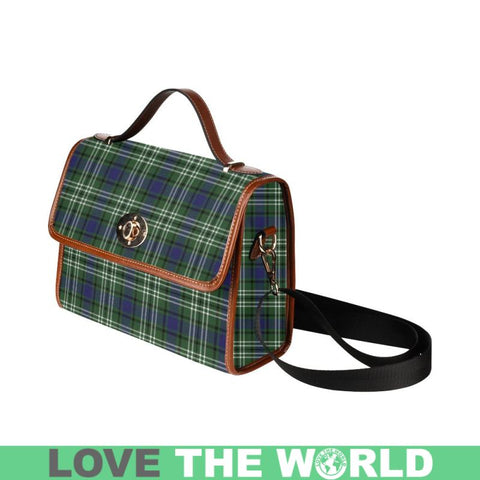 Blyth _ Tweeside District Tartan Canvas Bag | Waterproof Bag | Scottish Bag