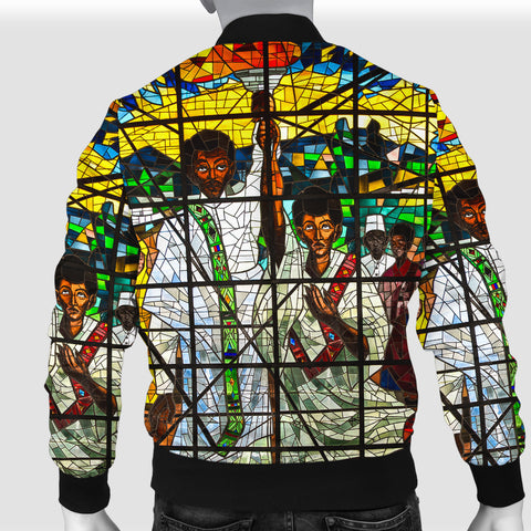 Image of Ethiopia Bomber Jacket, Ethiopian Orthodox Men A10