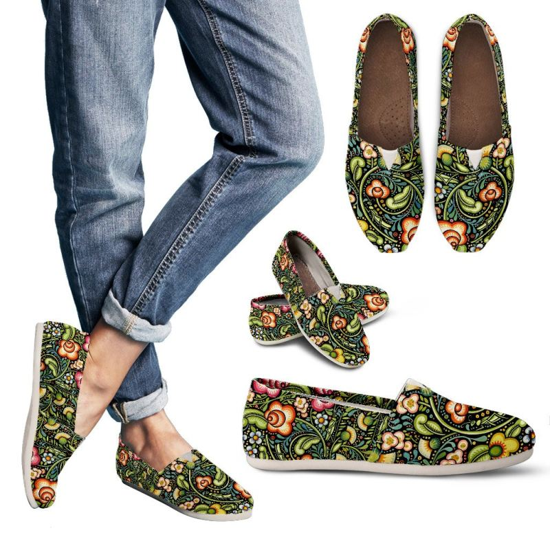 Bohemian Floral Casual Shoes Toms