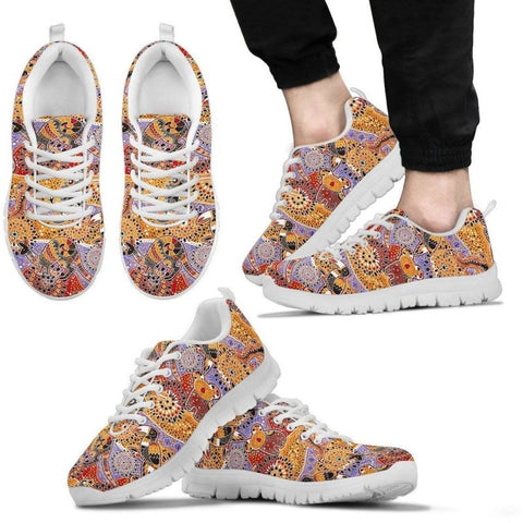 australia bohemian (aboriginal) pattern Men's / Women's Sneakers (Shoes)