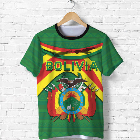 Image of Bolivia T Shirt - Vibes Version K8